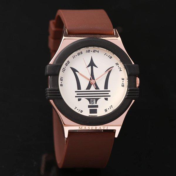 Мужчины женщины роскошные модные кварцевые часы часы 41