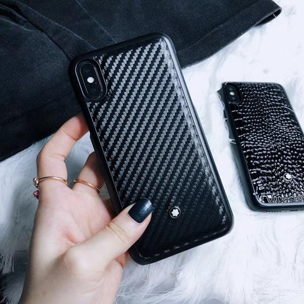 custodia in pelle di marca di buona qualità per iPhone 6 6s 7 8 8plus XR X custodia posteriore per iphone x xr custodia 7plus per iphone xr
