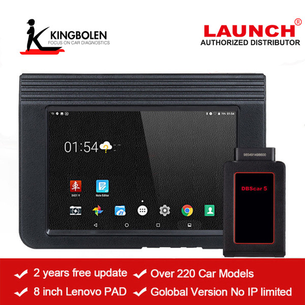 Launch X431 V Pro 8'' Auto Diagnostic tool full system Scanner Online Update two years Free Update Multi-languages same function X431 Pro