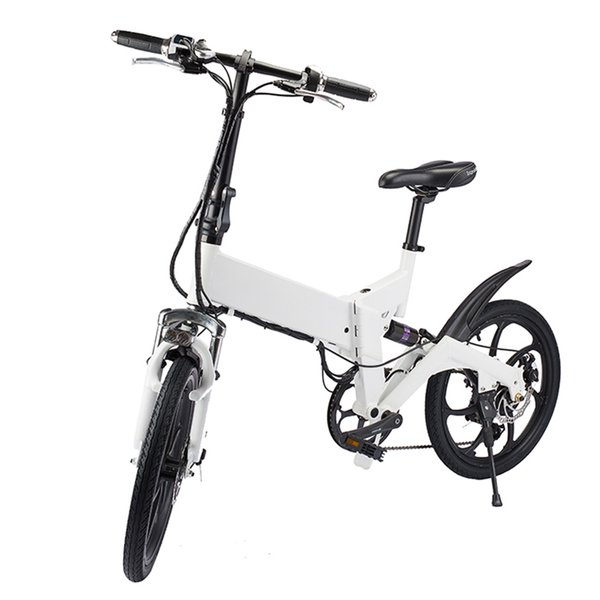 top popular Electric Bike ZM2007 Custom Carbon Fiber Mountain Walking Cross Beach Speed E Road Folding Electric Bike 2020