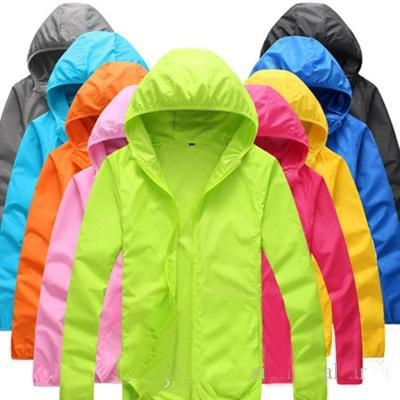 2019 Spring/summer outdoor cycling long-sleeved skin ultra-thin quick-drying raincoat for men /women sunscreen breathable windbreaker jacket