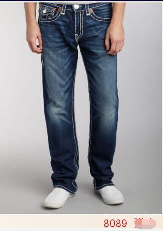 best selling Free Shipping 2017 New True Elastic jeans Mens Robin Rock Revival Jeans Crystal Studs Denim Pants Designer Trousers Men's size 30-40