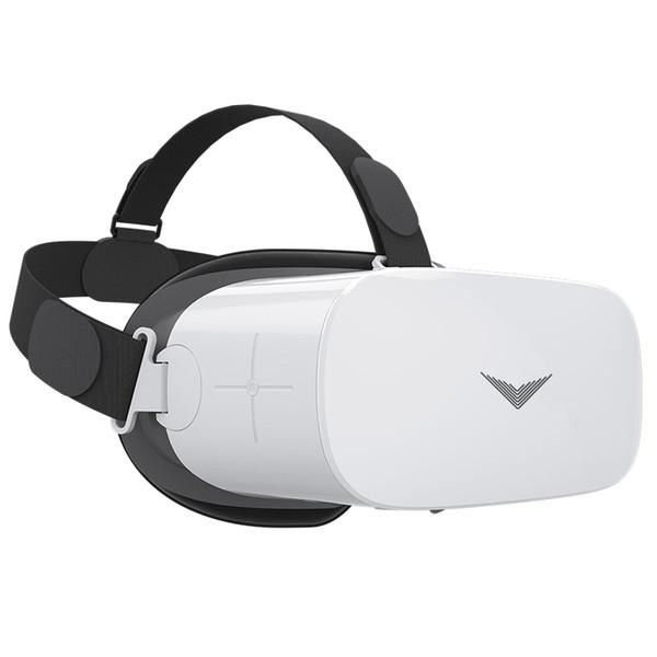 Para Android All In One Casco de realidad virtual 3D HD 1080p 5.5 Pantalla VR Gafas 2G y 16G Memoria 9 ejes Sensor 3D Gafas