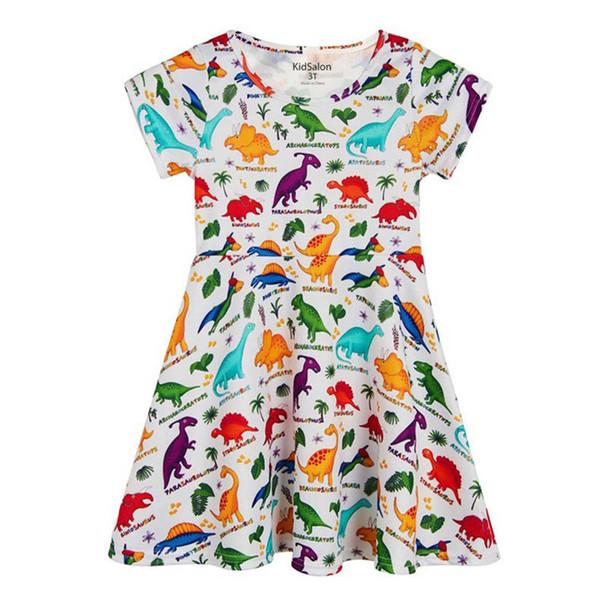 Robe de Licorne des Enfants de Noël pour Enfants Appliques Vêtements