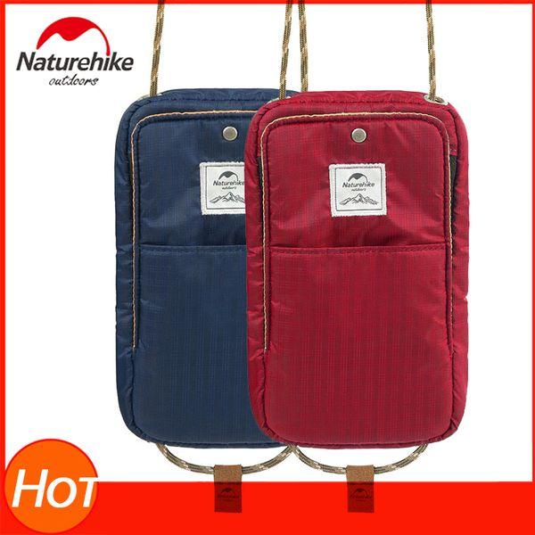 Naturehike Running Sports Bag Pouch Passport Waterproof Bag Travel Wallet Ticket Document Holder With Zipper For Men & Women