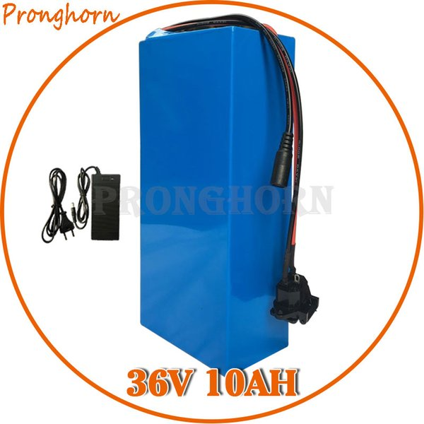 36V 10AH E Batería de la motocicleta de alta capacidad 500W 350W 250W incluye batería de litio + cargador para moto e 36 42V 10AH 2AV