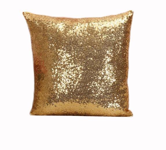 Creative glitter sequins pillow case 40*40cm pillow cover car waist pillowcase sofa cushion cover home decoration nice gifts 40pcs