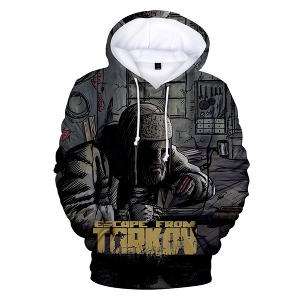 Best seller Escape From Tarkov 3D Hoodie Sweatshirts Men/Boy's Hoodies Escape From Tarkov So Cool Tracksuits Boy Clothing