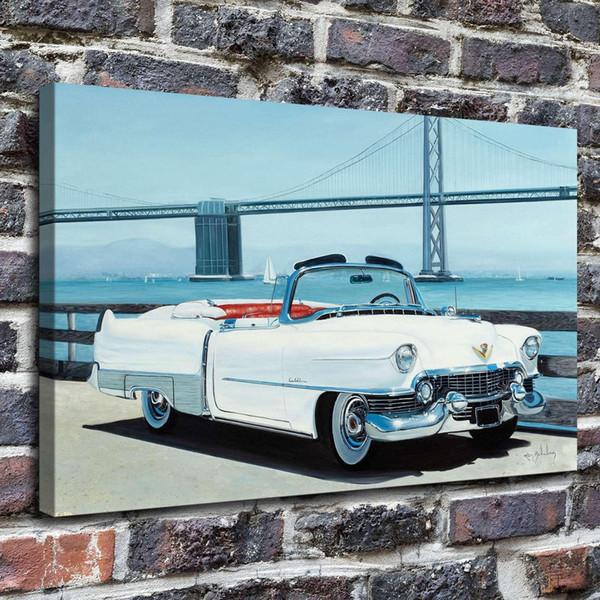 The Car Cadillac,Home Decor HD Printed Modern Art Painting on Canvas (Unframed/Framed)