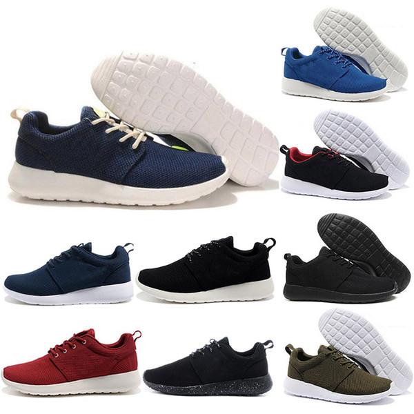 Moda sneakers erkekler eğitmenler lüks tasarımcı ayakkabı kadın spor ayakkabı Londra Olimpiyat siyah beyaz Kırmızı mavi düşük Hafif Nefes koşucu