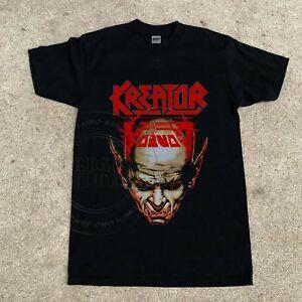 VTG 80's Kreator Voivod - Blind Faith Tour 1987 Fashionopean t-shirt reprint S-XXXL