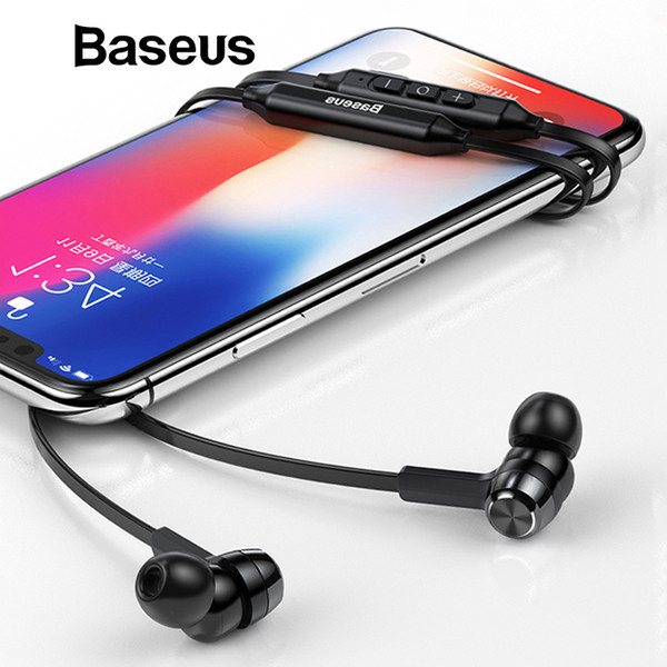 Baseus S06 Neckband Bluetooth Earphone Wireless headphone For iPhone earbuds stereo auriculares fone de ouvido with MIC