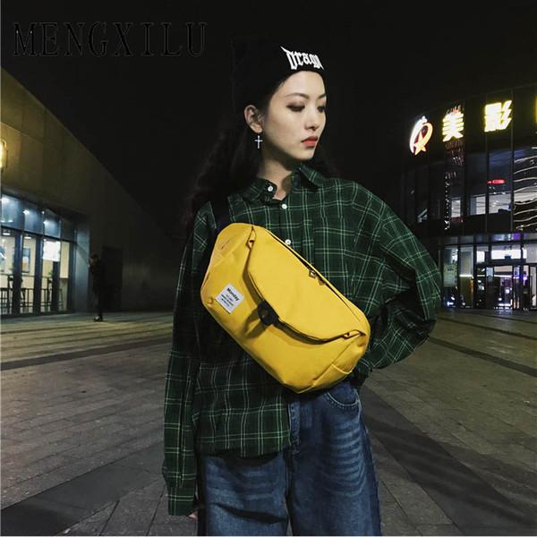 Unisex Erkek Kız Oxford Bel Çantaları Fermuar Kadınlar Için Crossbody Çanta Casual aksesuarları Çanta Ana Kesesi Bayanlar Fanny Çanta Yeni