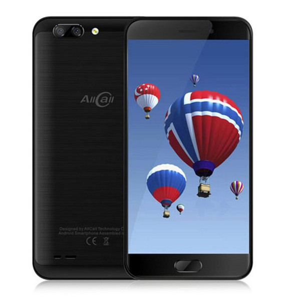 """Allcall Atom 4G Mobile Phone 5.2""""HD 2GB+16GB Android 7.0 MT6737 Quad Core 1.3GHz 8.0MP+2.0MP Dual Back Cameras OTG Cellphone"""