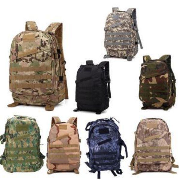 3D Outdoor Sport Tactical Climbing Mountaineering Backpack Camping Hiking Trekking Rucksack Travel Outdoor Bag Large capacity