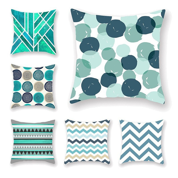 Home Decorative Pillow Covers Nordic Style Geometric Cushion Covers Mountain Arrows Pillow Cases Bedroom Sofa Decoration