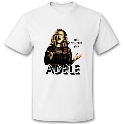 ADELE CONCERT 2017 TOUREN SIE DAS FINALE MUSIC T-Shirt in All Color