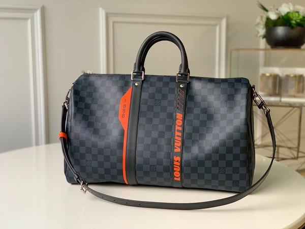 en kaliteli erkek spor seyahat çantası kepall kadınlar 45 çanta BANDOULIèRELouis Vuitton00 tote bagaj 11s 000705f #