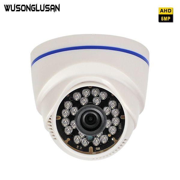 5MP AHD CMOS Sensor Camera AHD-H Indoor Dome With 3.6mm 6mm 8mm lens 24 Infrared leds IR Cut Night Vision CCTV Surveillance Cam