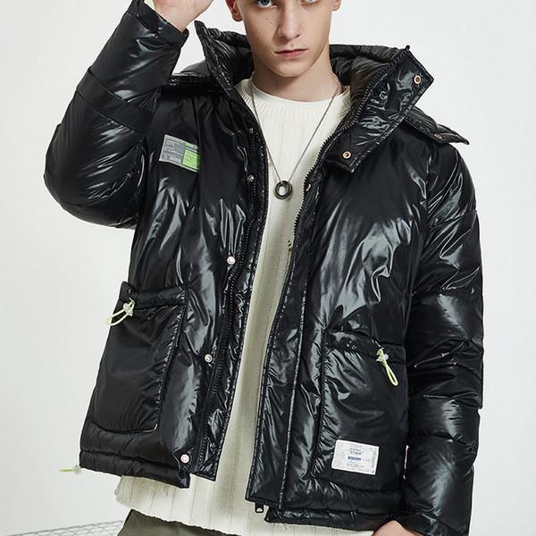 Mens Designer Daunenmantel Luxus Abzeichen Aufkleber Dicke Kleidung Marke Casual Warme Kapuzenjacken Winter Outdoor Streetwear Hohe Qualität