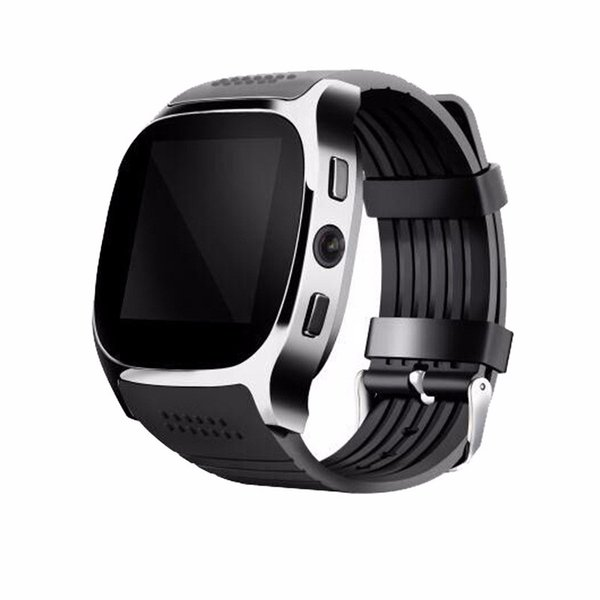 Bluetooth Sport FM Smart Watch Camera T8 Wristband Android Phone SIM Intelligent Mobile Phone Sleep State Smart Watch Retail Package
