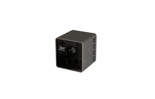 Мини-проектор UNIC P1+ WIFI 1080P микро Proyector, поддержка Miracast DLNA Airplay, встроенная батарея Pico Beamer WiFi LED 1 шт. / лот