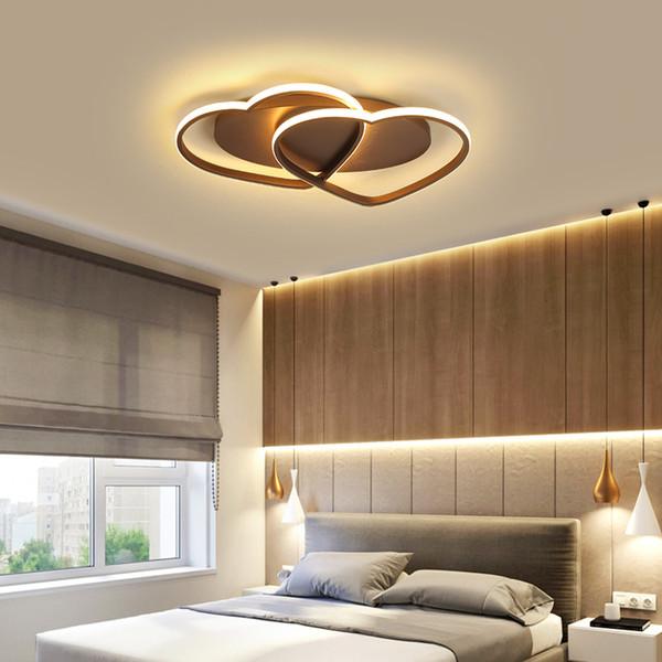 Новые алюминиевые современные светодиодные потолочные светильники lampada led для спальни детская комната дома lamparas de techo потолочный светильник AC110V-240V