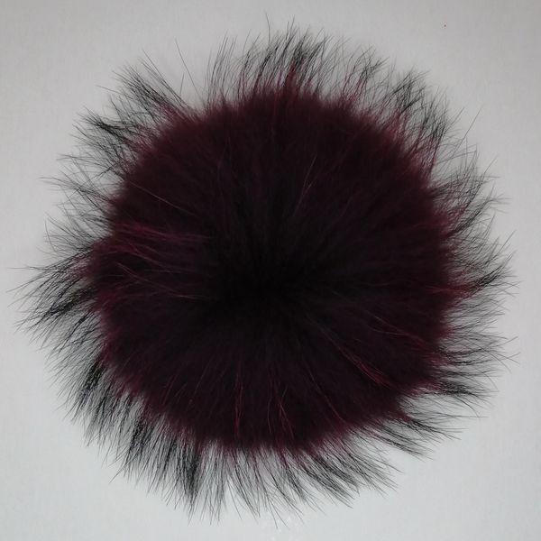 Uzun Saç 10 cm-15 cm Gerçek Rakun Yün Ponpon Tilki Kürk Topu istek olarak ücretsiz kargo özelleştirilmiş renk