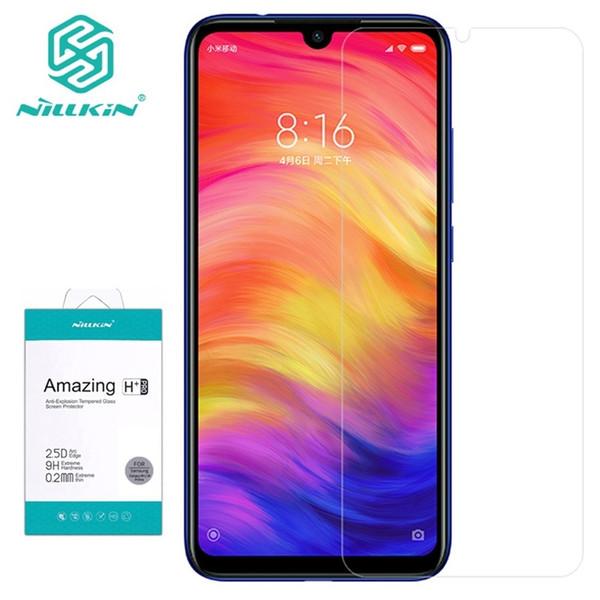 Nillkin displayschutzfolie xiaomi redmi note 7 pro gehärtetes glas erstaunlich h h + pro 9 h glas für xiaomi redmi note7 telefon j190505