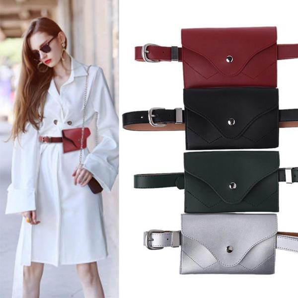 THINKTHENDO Fashion New Women Girls Waist Bag Fanny Pack Phone Key Adjustable Mini Belt Bag Cards Purse