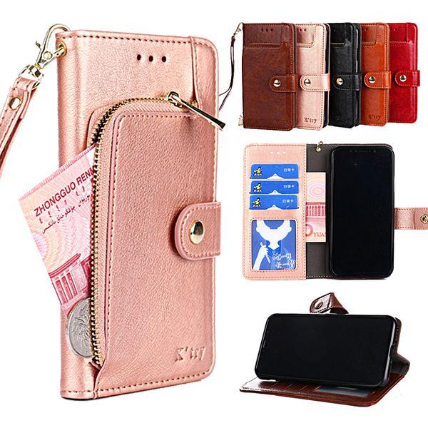 Flip wallet case for Vodafone Smart Platinum Prime 7 Turbo Ultra 7 Smart E8 V8 N8 N9 lite PU leather cover for VFD 500 700 510