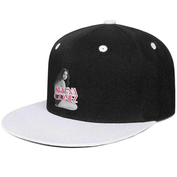 Designer Men and women Baseball cap Selena Gomez Revival CD Cover flat Brim Hip Hop Snapbacks cap Vintage mens hats