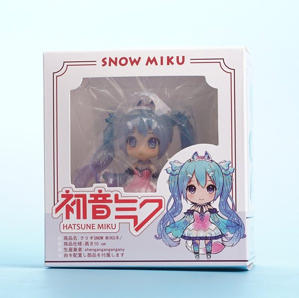 Hatsune Miku Anime Vocaloid Figma Nendoroid Chinese Doll Anime Action Figure PVC Collection Model Toys 10cm