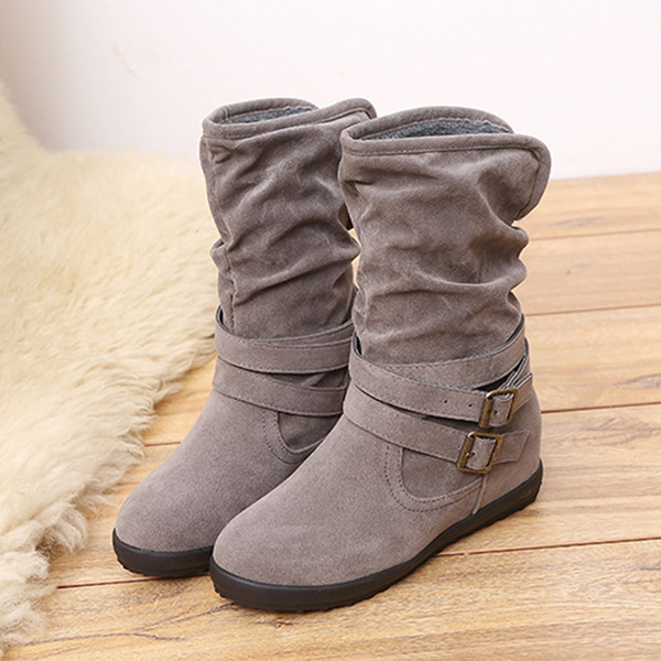 2018 de las mujeres botas de mujer de invierno botas de las