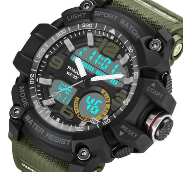 Neue Uhr Männer Mode Sport Elektronische Armbanduhren Herrenuhren Top-marke Luxus Digitaluhr 50 Mt Wasserdichte Uhr