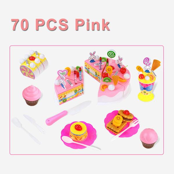 Color:70PCS PINK