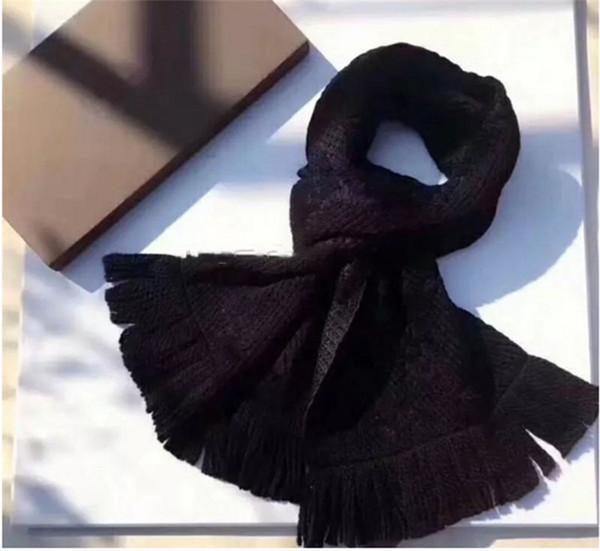 2019 marque écharpe hommes foulards de mode pour hommes de cachemire de haute qualité conception Echarpes Taille 180x30cm sans boîte