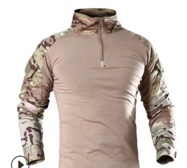 ReFire Gear Men Military Tactical T-shirt Long Sleeve SWAT Soldiers Combat T Shirt Airsoft Clothes Man's Camouflage Army Shirts S917