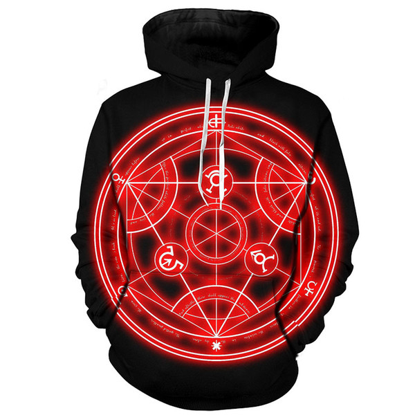 YFFUSHI 2019 Cool 3d Hoodies Men Tokyo Ghoul 3d Print Sweatshirts Men Anime Hooded Hoodies Casual Streetwear Cosplay Plus Size