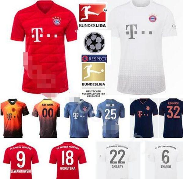 super popular f24cb 55653 2019 Men Kid Women Bayern Munich Jersey Soccer Robert Lewandowski Joshua  Kimmich Thomas Muller Serge Gnabry Neuer Leon Dajaku Pavard Football Kit  From ...