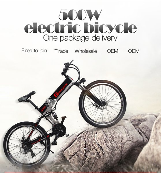 "best selling electric bike 21 speed 10ah 48 v, 500 w built-in lithium battery, ebike electric bicycle 26 ""electric off road cap Booster bicy"