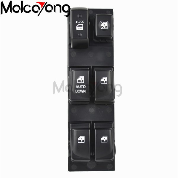 KEYO1E Master Power Window Switch Left Front Driver Side for 2008-2010 Hyundai Sonata 93570-3K600 935703K600-2Yr Warranty