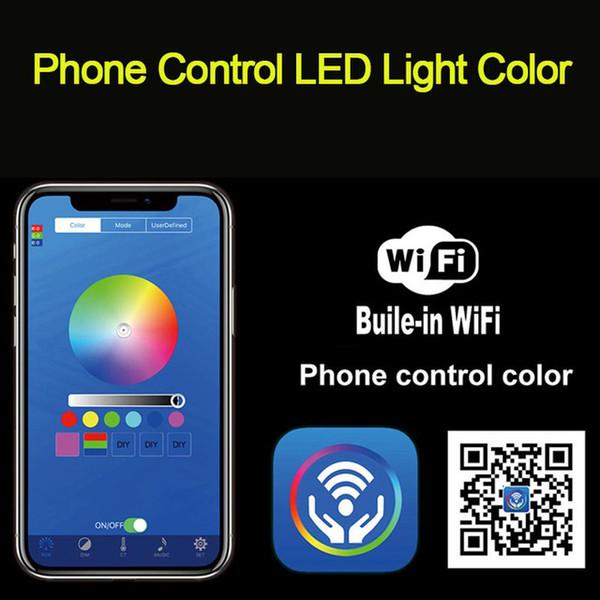 Control de teléfono LED cambio de color