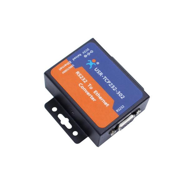 Freeshipping Serial server 232 to RJ45 serial to Ethernet communication equipment Serial RS232 to Lan Server RJ45 Ethernet