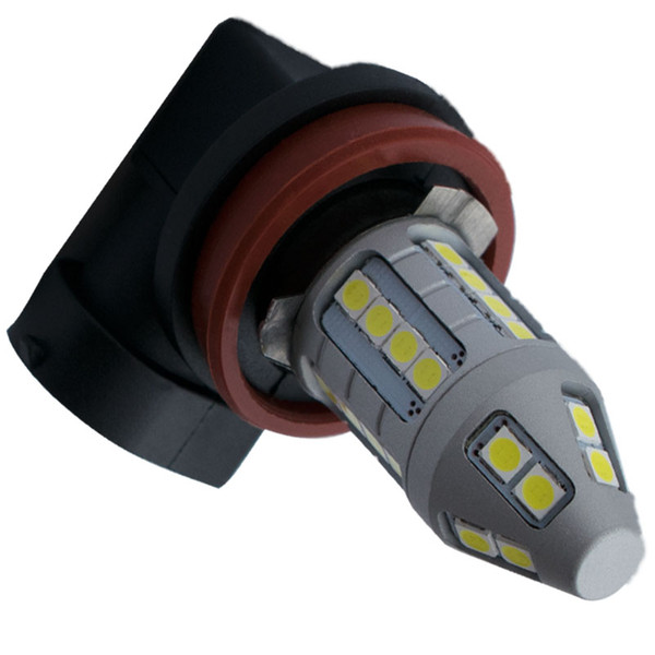 H11 H8 1800LM Super Bright 3030 LED Auto Fog Lamps High Power Car Anti Fog Light Foglamps Bulb White DC 12V