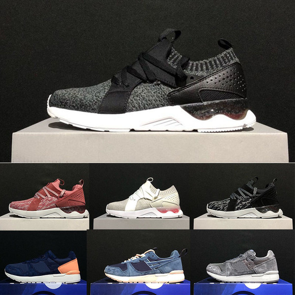 Gel-Lyte V OG Ultra Knit Mens Running Shoes For Women Triple Butter Black White Green Trainers Sneakers Sports Outdoor Designer Casual Shoes