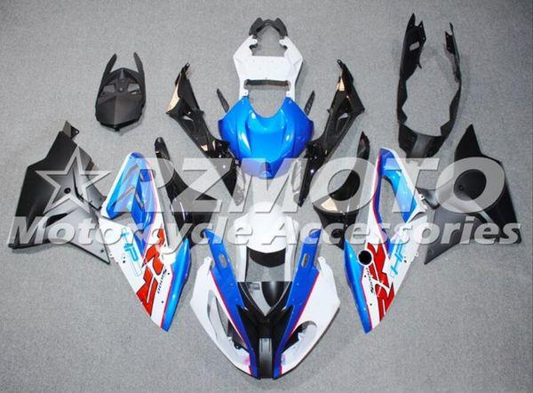 4 gratuita di Mold regali di iniezione del nuovo ABS per moto completa carenature kit Fit For BMW S1000RR 2015 2016 15 16 HP4 set corpo Custom blu bianco rosso