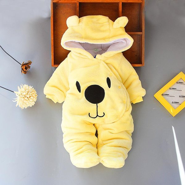 best selling Baby Infant Boy Designer Clothes for Newborn Baby Girl Clothing Autumn Winter Girl Dress 2019 Girls Snowsuits