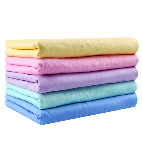 43*32CM PVA Pet Cleaning Comfortable Towel Fast Drying Pet Grooming Microfiber Towel Tool Dog Pet Supplies Bathroom Accessories