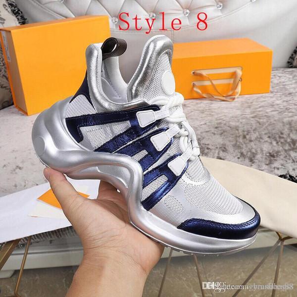 2020 новых прибытия мужской баскетбольной обуви Luxury папа Обувь суперзвезд натуральной кожи отдыха Кроссовки для женщин на открытом воздухе Traine обувь Лучшие качества